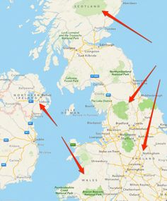 Quick, can you spot Wales? England? Where's Scotland? How about Northern Ireland? Which is the island of Great Britain? Zoom in-and-out all you want, you won't be able to locate them, either through labels or boundaries.
