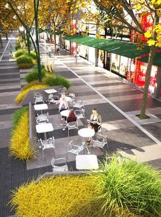 landscape architecture and urban planning Landscape And Urbanism, Urban Landscape, Landscape Design, Plaza Design, Urban Ideas, Urban Design Diagram, Plans Architecture, Parking Design, Urban Furniture