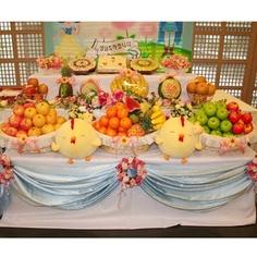A traditional Korean Dol (Doljanchie) - first birthday party www ...