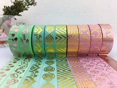 Washi tape ! Cute design ! ‪#‎Qcustom‬ #washi tape MFG. Email us for the best prices. sales@packingtape.cn #washitape #foiltape #cutetape #cute #scrapbooking #handmake
