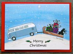 vw camper/kombi greetings cards by AudreysAdventures on Etsy #kombilove