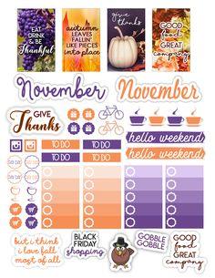 November Planner Freebie | Simply Alexa Simone