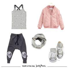 sportieve meisjes outfit