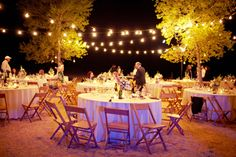 Chic Barbecue Wedding Reception | It looks like it was such a wonderful day and evening. That last image ...