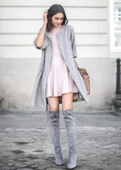 #fashion #trends / Cozy and cute winter outfit