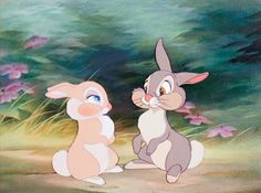 Thumper.... only because he was ALWAYS my fave!