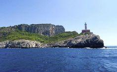 Il Faro - beaching until the sunset here - Capri Italy