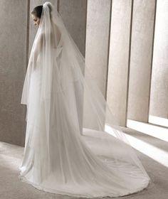 Chapel Veil, perfect length