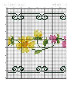 Cross Stitch Borders, Sewing, Pattern, Handmade, Charts, Embroidery, Cross Stitch Rose, Cross Stitch Embroidery, Towels