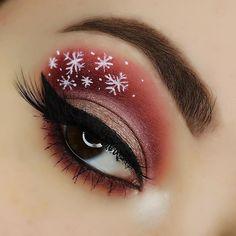 Christmas Makeup – Christmas Makeup - Water - Festive Christmas Makeup – Christmas Makeup – -Festive Christmas Makeup – Christmas Makeup - Water - Festive Christmas Makeup – Christmas Makeup – - 31 Stunning Christmas Makeup Looks You'll Love Makeup Goals, Makeup Inspo, Makeup Inspiration, Makeup Tips, Christmas Makeup Look, Holiday Makeup Looks, Winter Make-up, Pigmentation, Beauty Make-up