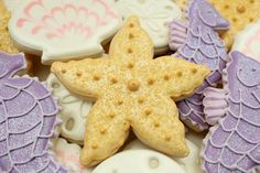 Starfish Cookies from The Sweet Adventures of Sugarbelle    http://www.sweetsugarbelle.com/blog/