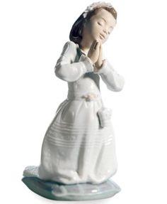Lladro Collectible Figurine, Communion Girl