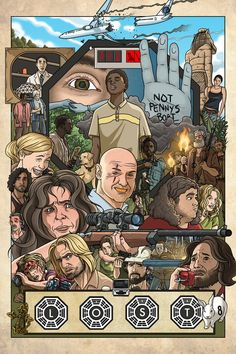 Incredible LOST fan art. I'm so deeply lost in LOST!