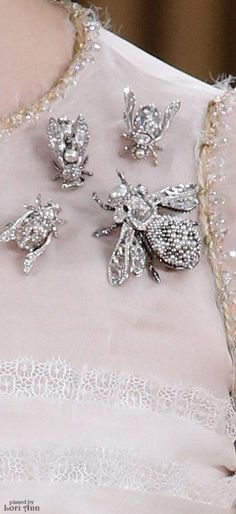 Rosamaria G Frangini | High Fashion Details | Chanel Couture Spring 2016