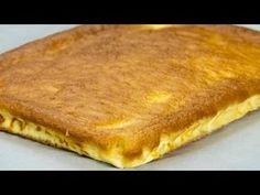 Vă prezentăm o rețetă rapidă de plăcintă turnată cu brânză dulce. Este foarte aromată, fină și extrem de delicioasă, este pe placul atât copiilor, cât și maturilor. Când nu dispuneți de mult timp și vreți Egg Recipes, Dessert Recipes, Pan Relleno, Hungarian Recipes, No Cook Desserts, Dessert Drinks, Cakes And More, Cake Cookies, I Foods