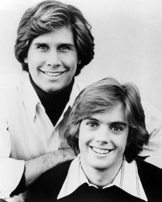 """Shawn Cassidy and Parker Stevenson """"Hardy Boys"""" - Okay, so back in the day when I was 12...they were eye candy for me!!!"""