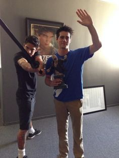 Haha Dylan and Tyler
