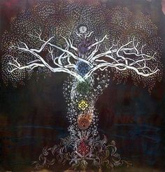 The Tree of Life is within the Human Soul. ♥  Artist ~ Silas Stoddard