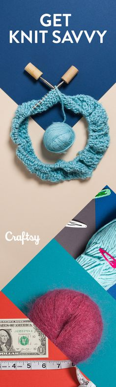 We've rounded up our smartest knitting tips and most surprising ideas to jump-start your creativity. Curious? Read more on Craftsy!#craftsavvy