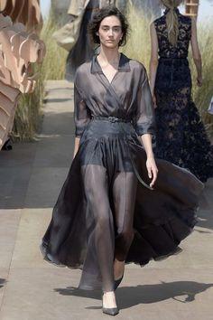 Christian Dior Fall 2017 Couture Fashion Show - Amanda Googe