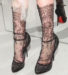 Marchesa Lace Socks