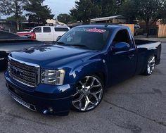 Lowrider Trucks, Custom Chevy Trucks, Chevy Pickup Trucks, Ford Trucks, Diesel Trucks, Chevy Silverado Single Cab, Silverado Truck, C10 Chevy Truck, Dropped Trucks