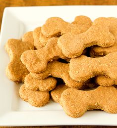 Homemade Beef and Cheddar Dog Treats | Brown Eyed Baker | Out of the Crab Bucket