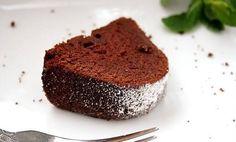 Un esponjoso panqué de chocolate saludable y vegano! #Panqué_Vegano_de_Chocolate #recetas #dulces #postre #chocolate #vegano