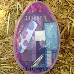 Easter Jamberry Gift Set! Order with your choice of Jamberry (or Jamberry Junior) wrap- comes with everything you need.