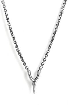 Elizabeth and James wishbone necklace $110