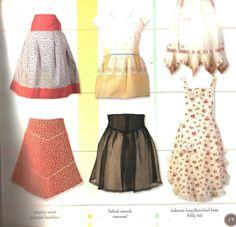 A is for apron : 25 fresh & flirty designs / by Nathalie Mornu