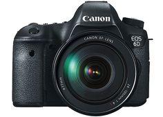 coolCanon presentó su nueva full frame, la EOS 6D
