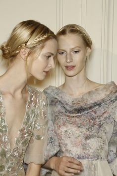 Valentino Haute Couture SS 2013 Hair and Make-up