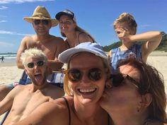 Had an awesome day at the beach with the Sydney fam bam @kazzakoko @kelsrowey @savrowey @yaku_