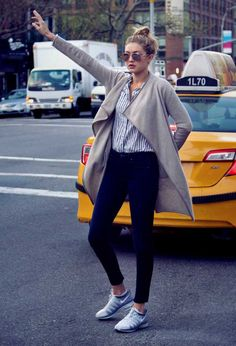 Classic meets Hipster: Gigi Hadid