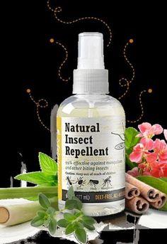 Melaleuca Natural Insect Repellent   Deet free bug spray