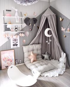 Neutral Gender Nursery Room Simple Studio nurseryroom nursery neutral greynursery BedroomIdeas is part of Girl room - Baby Bedroom, Baby Room Decor, Nursery Room, Girls Bedroom, Bedroom Decor, Bedroom Ideas, Grey Bedrooms, Book Corner Ideas Bedroom, Safari Room Decor