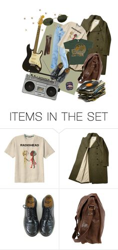 """""""the rocker"""" by lucybouchet ❤ liked on Polyvore featuring art"""