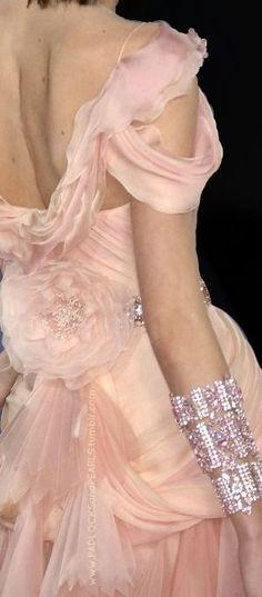 Blush Pink Gown ~ MontanaRosePainter