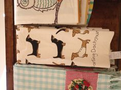 Darling Dachshund kitchen towels from Anthropologie a MUST.