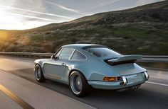 "Another Custom Porsche From Singer Design That Will Make Your Jaw Drop. So ""mint."""