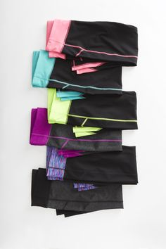 Keep moving with our Xersion Capri leggings and their thoughtful design for longer, more comfortable workouts. Click the image to shop xersion workout leggings!