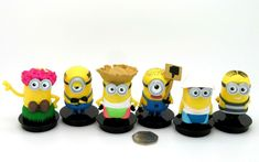 Minions Despicable Me 3 Universal Pictures set figures Cinema Movie Toppers 6 Cinema Movies, Movie Theater, Pierre Coffin, Minions Love, Minions Despicable Me, Universal Pictures, Love Movie, Character, Cinema