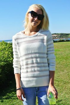 Light and Shade Knit $60   Fashion, sale, clothing, boutique, online boutique, model, fashion blogger
