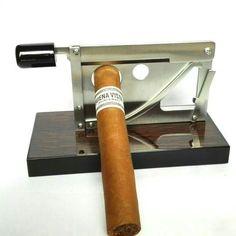 Zigarrenschneider im Guillotinendesign für unterschiedliche Formate