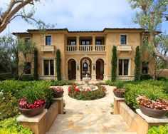 Mediterranean Exterior Craftsman Style Design, Pictures, Remodel, Decor and Ideas - page 5