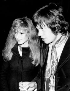 Marianne Faithfull & Mick Jagger  [sorry I still ship them]  [like hard]  [like really really hard]