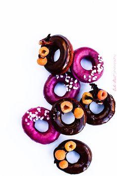Donuts de remolacha y chocolatecha-9