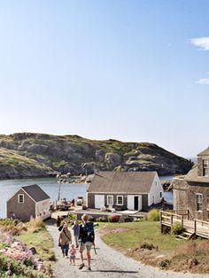 A daytrip or overnight to Monhegan Island, Maine is an adventure we recommend. The island is a small haven for lobstermen and artists--spend the day working on your watercolor or exploring the many hiking paths.