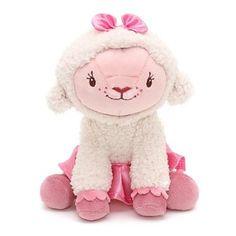 "Amazon.com: Disney jr DOC MCSTUFFINS mini plush beam lamb LAMBIE 7"" the lamb lamby doll toy: Toys & Games"